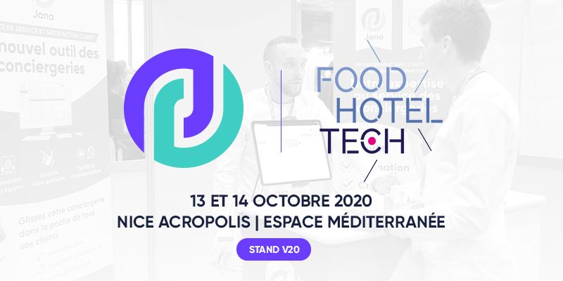 Jana au Food hotel Tech Nice 2020